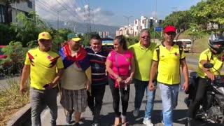 Así avanza el paro de taxistas en Bucaramanga y el área