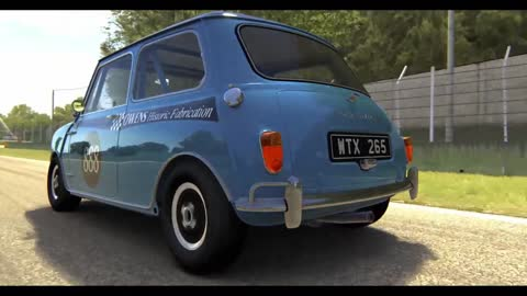 Austin Mini Cooper S Cinematic Must See