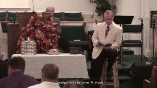 Special Service - Communion, with James W. Bryant, 2015