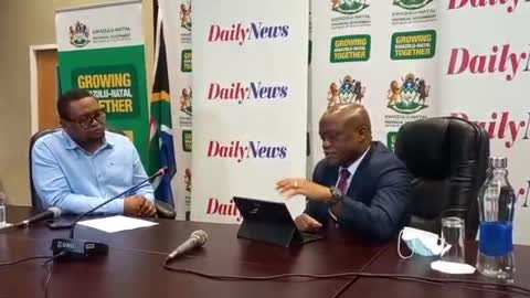 KZN Premier Sihle Zikalala interview