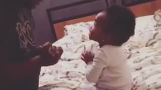 Father and Daughter Arguing Over Nothing