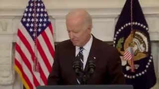 Biden WALKS AWAY When Asked Whether His Vaccine Mandates are Constitutional