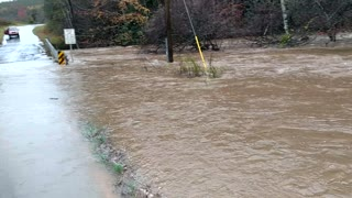 Flooding at Jacob's Fork