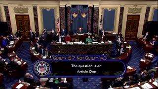 U.S. Senate acquits Trump in impeachment trial