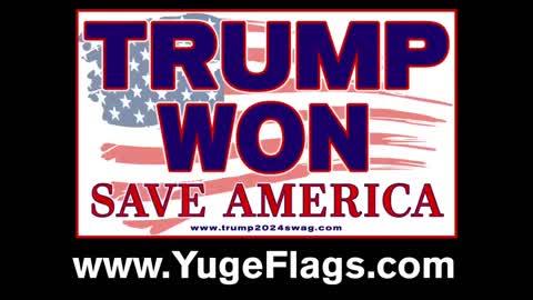 Trump Won Flag Mets Citi Field