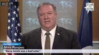 """""""Steve Linick was a bad actor,"""" says Mike Pompeo"""