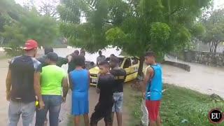 Emergencia en el barrio El Campestre en Cartagena