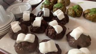 Making delicious various scones