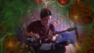 The Spider's Web - Cigar Box Guitar Improvisation