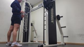 Squat practice video