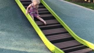 Slide down