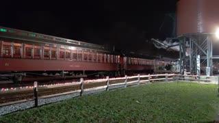 Strasburg Railroad Christmas Tree Train