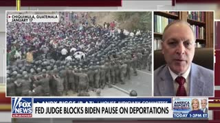 Congressman Biggs and Harris Faulkner discuss immigration problems at the southern border