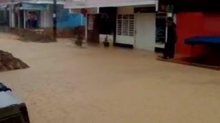 Inundaciones Por Las Fuertes Lluvias..😱😱