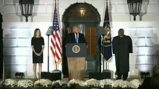 President Trump Introduces Justice Amy Coney Barrett