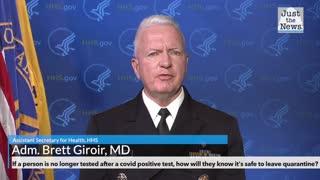Assistant Secretary for Health at HHS on coronavirus