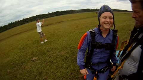 Skydiving on 18th Birthday