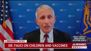 """Dr. Fauci says 3-year-olds should be forced to wear masks: """"No doubt about that""""..!!"""