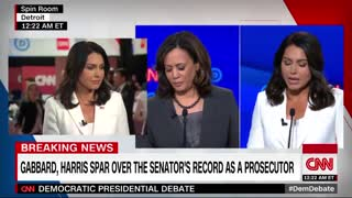 Gabbard continues her attack on Harris