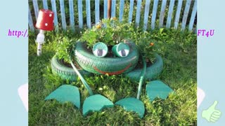 Creative DIY Ideas to Repurpose Old Tire into an Animal