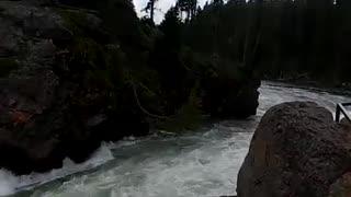 Yellowstone Falls Wyoming