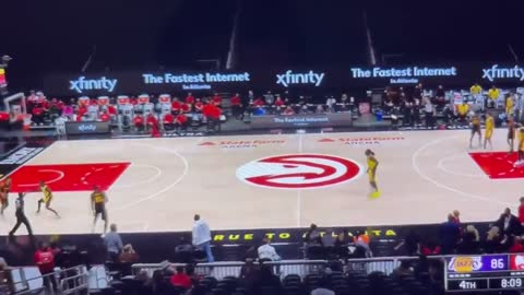 LeBron Kicks Fan Out Of NBA Game
