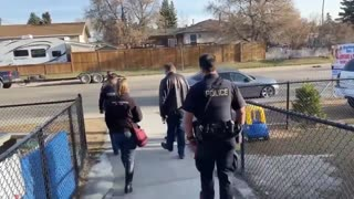 Polish Pastor Kicks Out COVID Cops from Church in Canada!