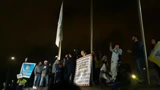 Bumangueses marcharon para exigir la renuncia del Fiscal