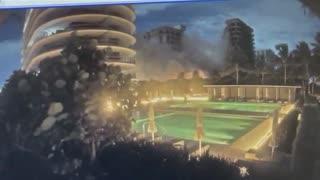 Miami Apartment Condo Collapse caught on video