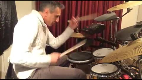 ZDRUM traditional grip solo