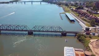 Norfolk Southern Tennessee River Bridge, Decatur, AL.