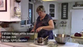 Marti's Home Cookin' - Italian Meatballs.
