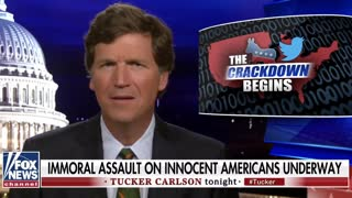 Tucker: Corporations colluding with Democrats to silence Americans