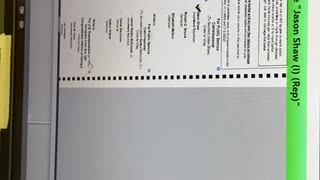 Coffee County, GA Dominion Voting Machine Flaws-2020 Election (Video 1/2 from DougalsNow.com)