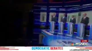 President Donald Trump trolls Democrat debate