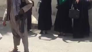 These Brave Afghan Women Take to the Streets to Demand Equality From Taliban