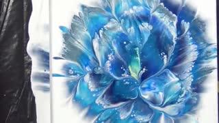Creative painting flowers simple painting