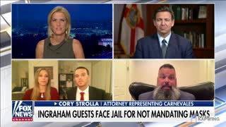 Gov. DeSantis Grants Clemency to Gym Owners Who Opposed Mask Mandate LIVE on TV
