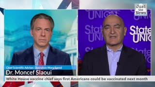 White House vaccine chief says first Americans could be vaccinated next month