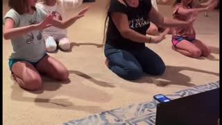 Keto Family Learns Hula Dance (Part 3)