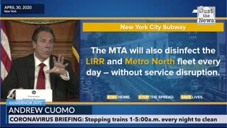 New York city to shut down subways for cleaning during pandemic