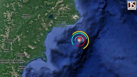 Russia earthquake 2021 Magnitude 5.4 earthquake strikes near Petropavlovsk, January 17