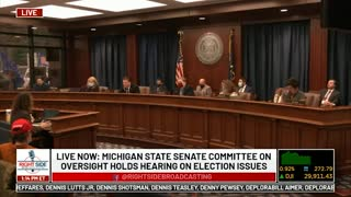 Witness #19 testifies at Michigan House Oversight Committee hearing on 2020 Election. Dec. 2, 2020.
