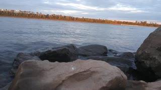 Ohio River Water Crashing onto Bank Sounds Of Nature Relaxing Nature Noises Sleep Help Calming Mood