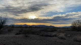 Time lapse Sunset 2/2/2021