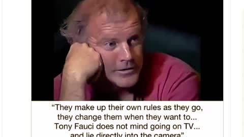 Tony Fauci - By Kary Mullis
