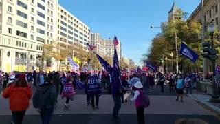 Million maga March patriots
