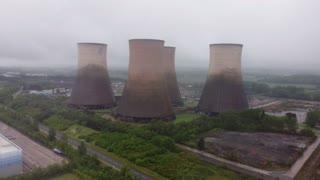 Demolition of the Rugeley Power Station