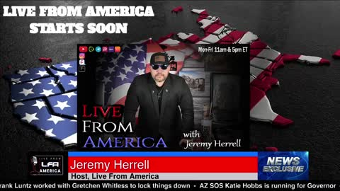 Live From America - 6/2/21 5pm Wednesday