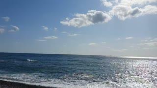 Beach on a sunny day.